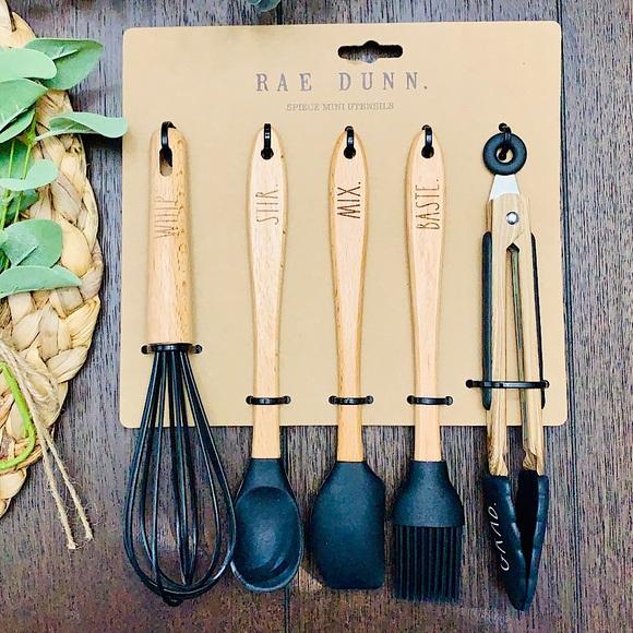 💗🏡RAE DUNN Baking Cooking 5pc Mini Utensils Set!